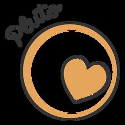 Pluto Herz einfacher Sonnensystem Planet