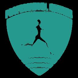 Distintivo de corredor profissional