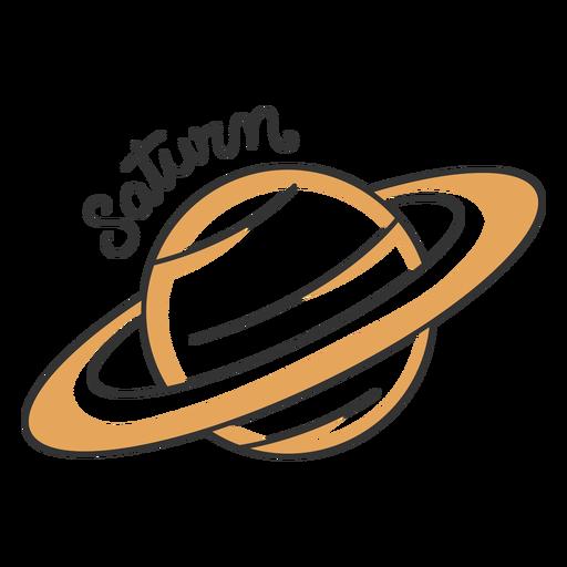 Planeta del sistema solar de Saturno