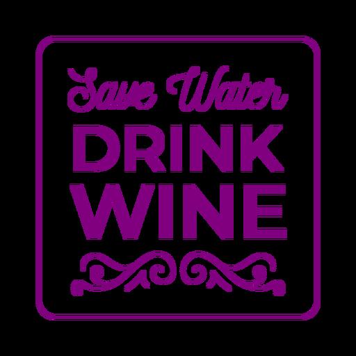 Ahorrar agua beber posavasos Transparent PNG