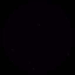 Símbolo de mão desenhada de bola de futebol preto