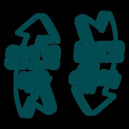 Calcetines hasta libros con diseño de calcetín