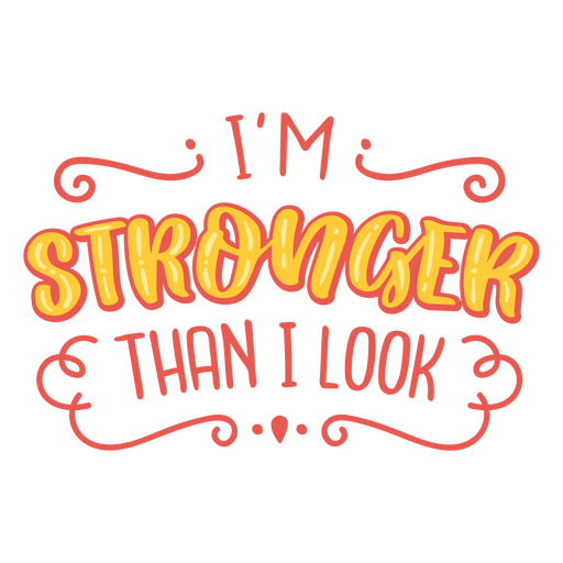 Stronger than i look cancer support quote