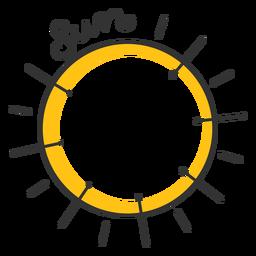 Estrella del sistema solar solar