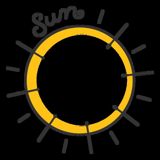 Estrela do sistema solar Sun