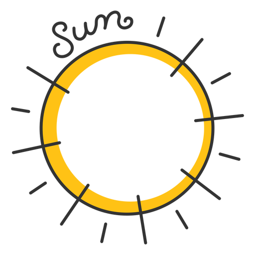 Sun solar system star Transparent PNG