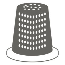 Thimble grey icon