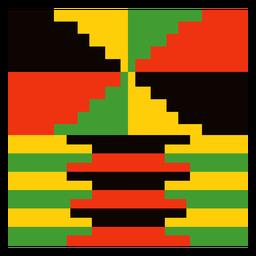 Composição tradicional de kente