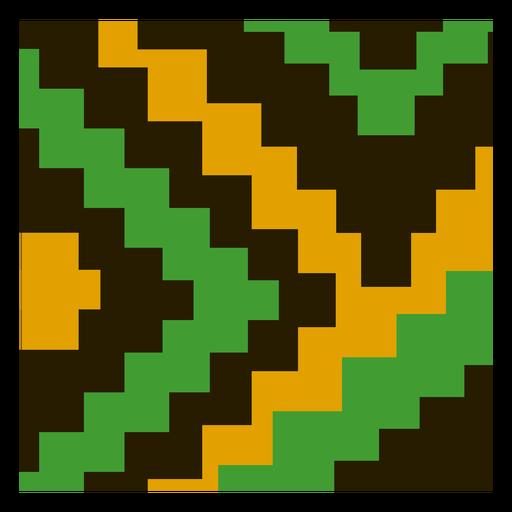 Composición de kente de escalera tradicional