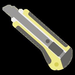 Utility knife flat icon