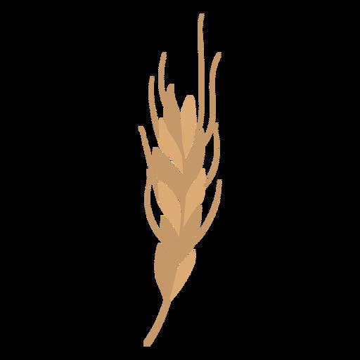 Ramo de trigo plano Transparent PNG