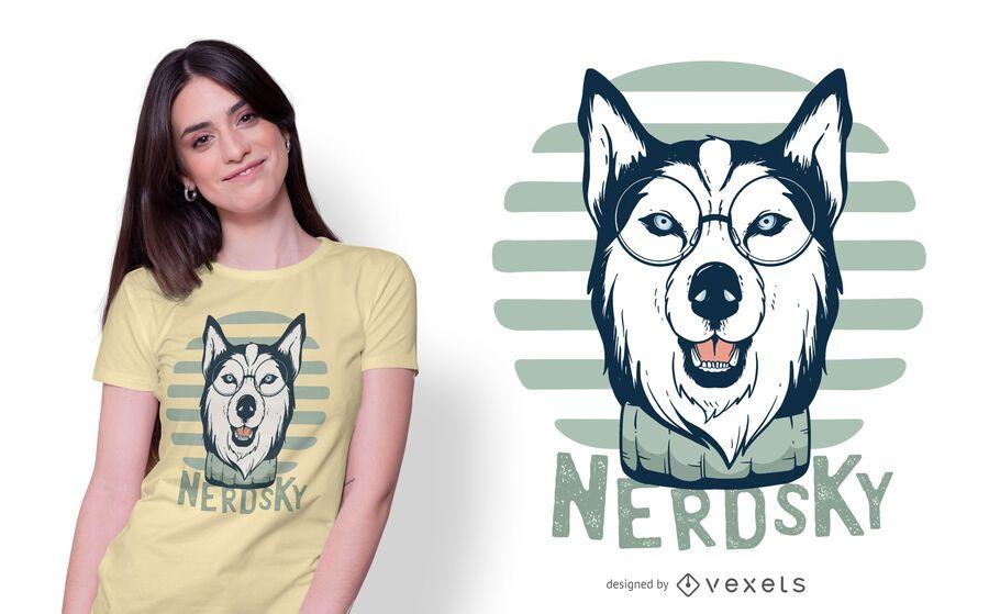 Nerdsky T-Shirt Design