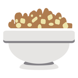 Bowl cereal flat