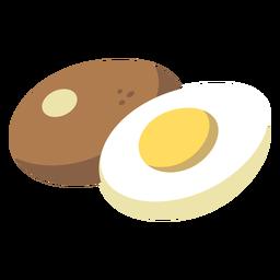Egg flat food