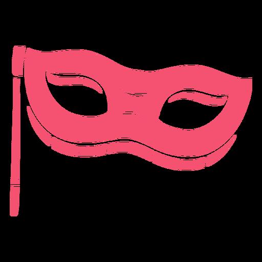Purim mask pink