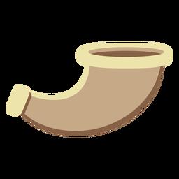 Shofar passover flat