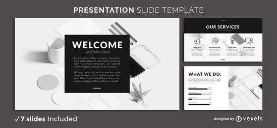 Minimal B&W Presentation Template