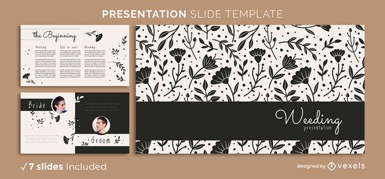 Floral Love Presentation Template
