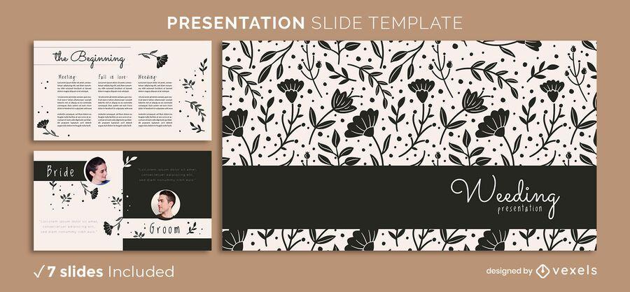 Floral Love Presentation Template