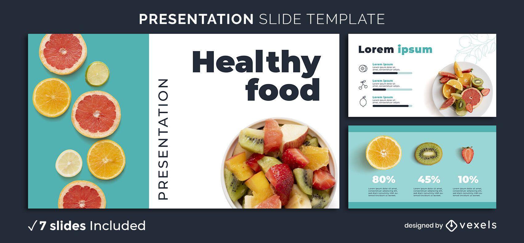 Healthy Citrus Presentation Template