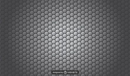 Honeycomb gray pattern