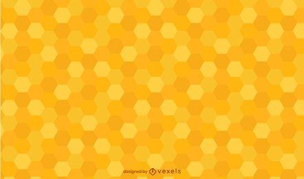 Design de padrão de favo de mel