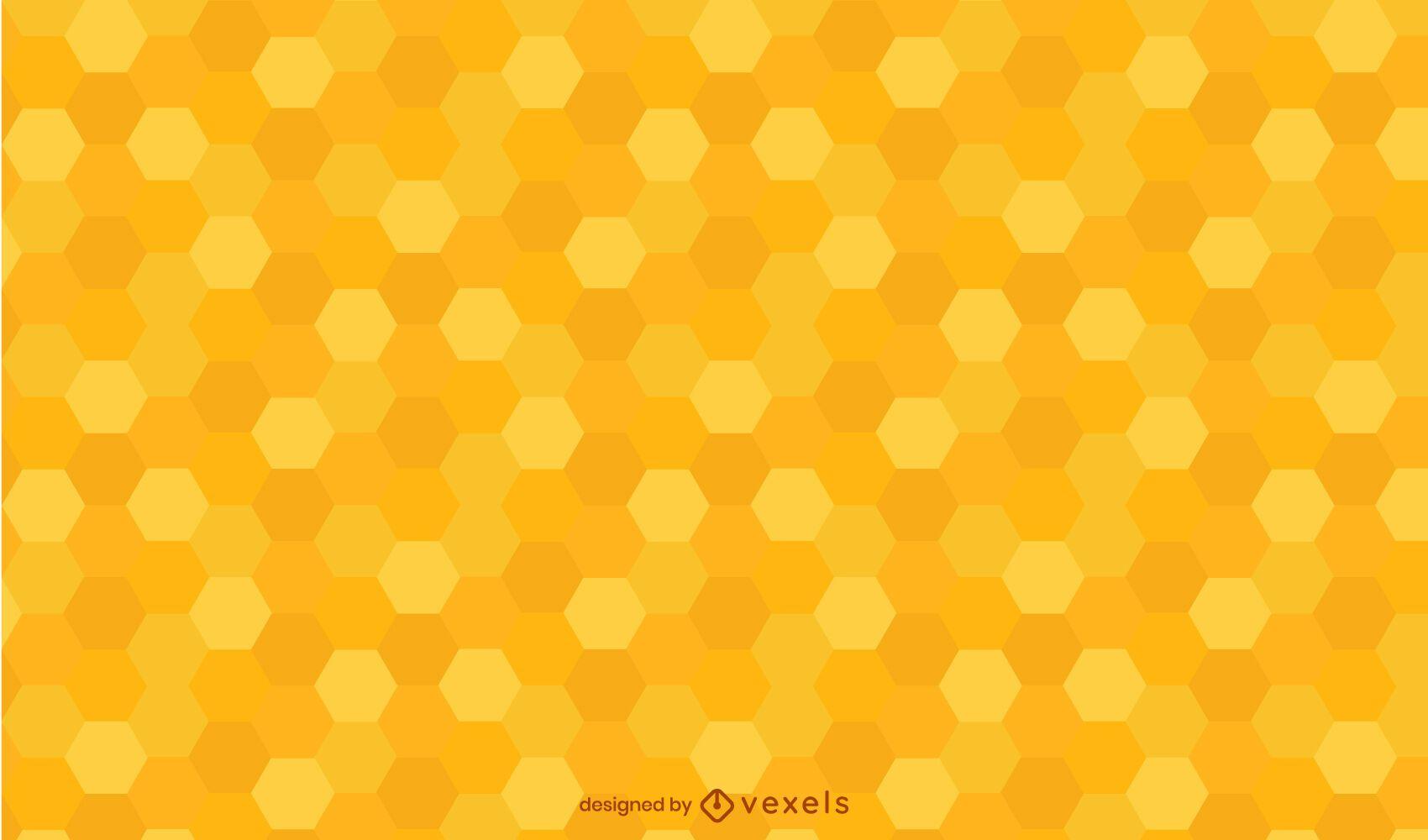Diseño de patrón de panal