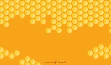 Honeycomb gradient background