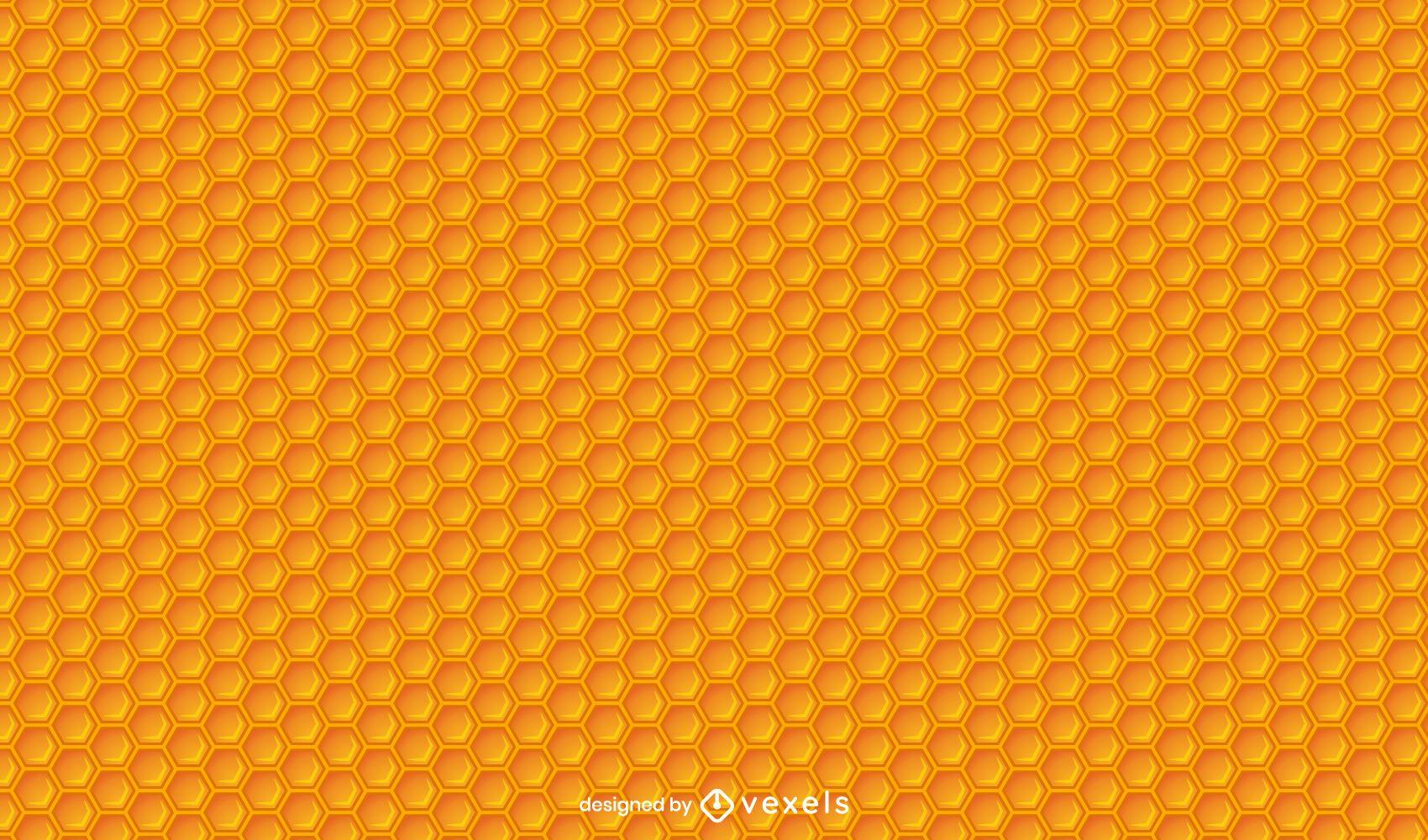 Bee honeycomb pattern design