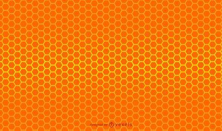 Projeto de gradiente de favo de mel