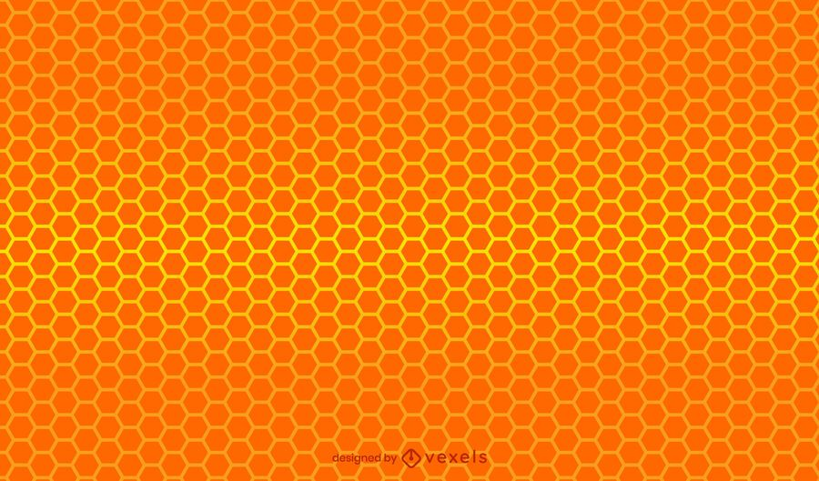 Honeycomb gradient pattern design