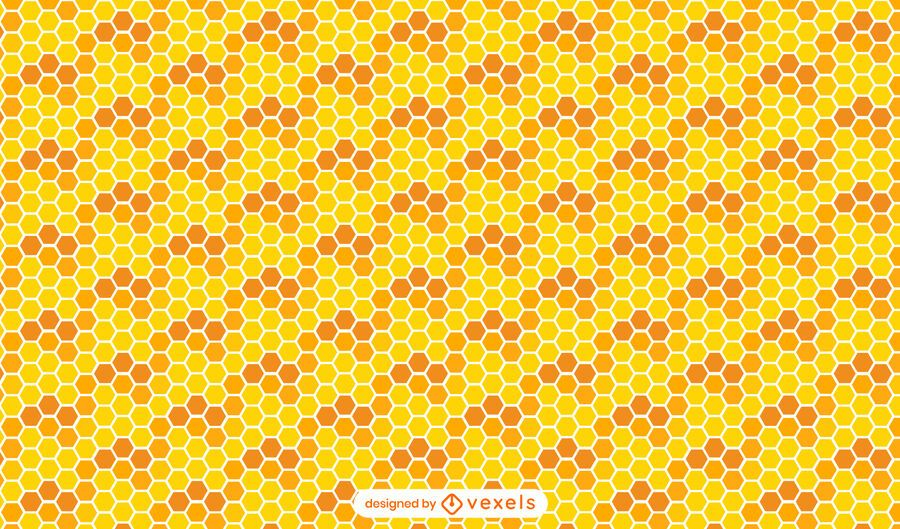 Honeycomb seamless pattern design