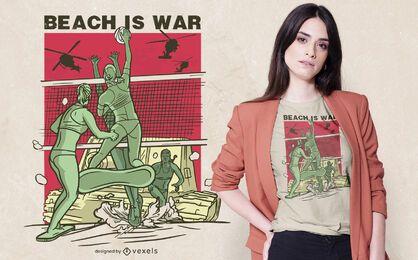 Volleyball lustiges Zitat T-Shirt Design