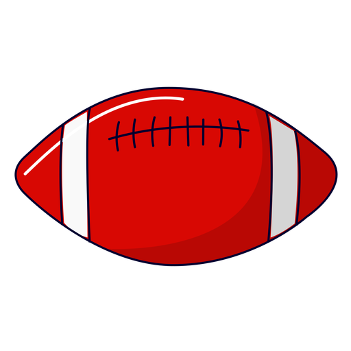 American football illustration Transparent PNG