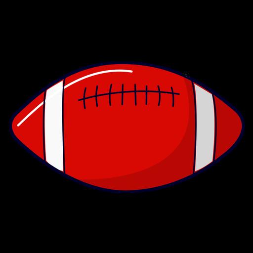 Ilustração de futebol americano Transparent PNG