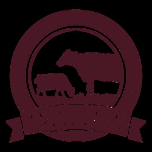 Insignia de la granja Angus