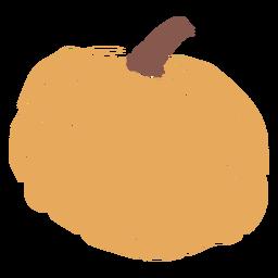 Calabaza de otoño plana