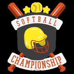 Badge softball championship