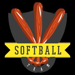 Badge softball team