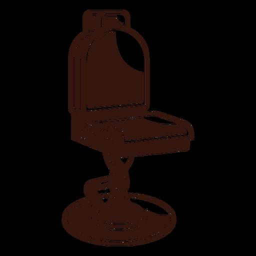 Barber chair vintage Transparent PNG