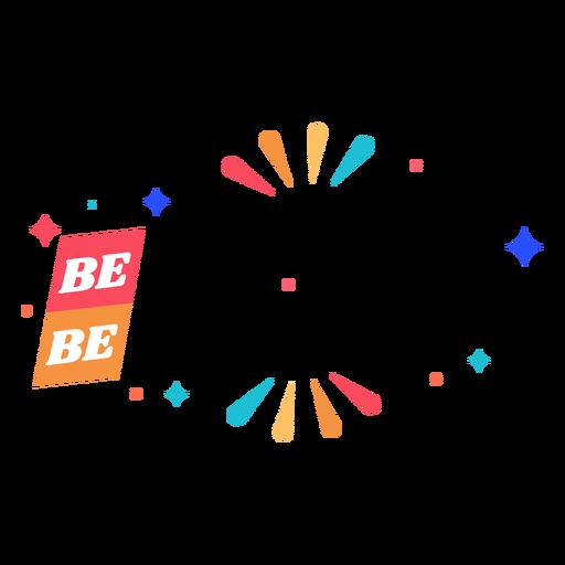 Seja orgulhoso letras Transparent PNG