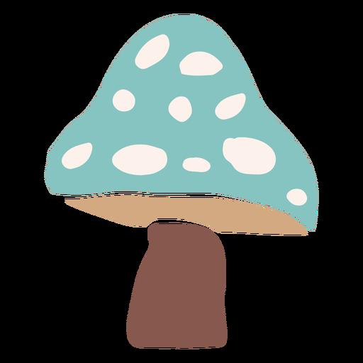 Seta azul plana