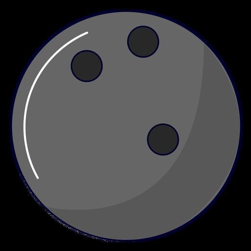 Bowling ball illustration Transparent PNG