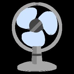 Desktop fan flat