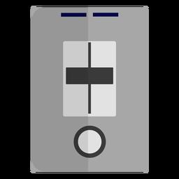 Door bell flat