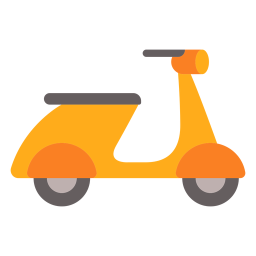 Electric scooter flat