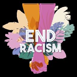 Letras de racismo de fim
