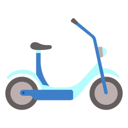 Scooter electrico plano