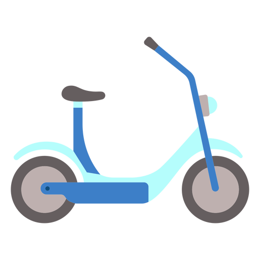 Flat electric scooter