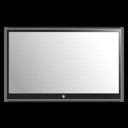 Ilustração de tv plana